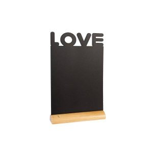 securit-chalkboard-table-wood-silhouette-love-incl