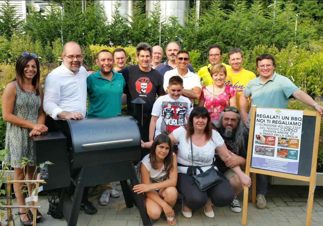 Maestri del Barbecue 4° Step: Dragster Grill