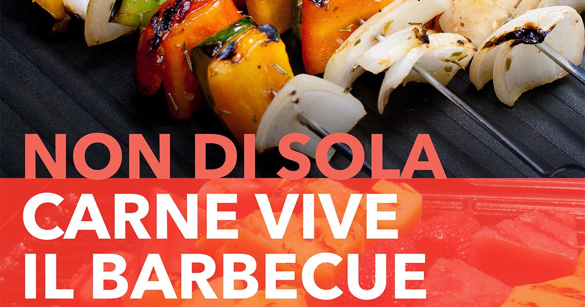 Barbecue Vegetariano, corso per diventare un esperto della griglia barbecue vegetariano, con barbecue a carbonella, barbecue a gas