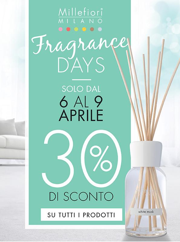 millefiori fragrance days da giardango