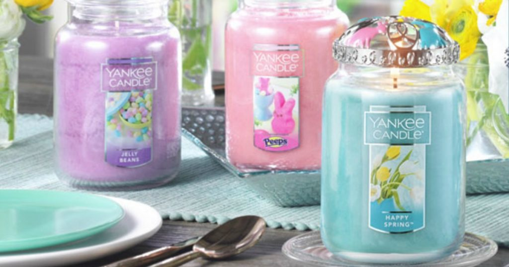 yankee candle happy_sping_da_giardango