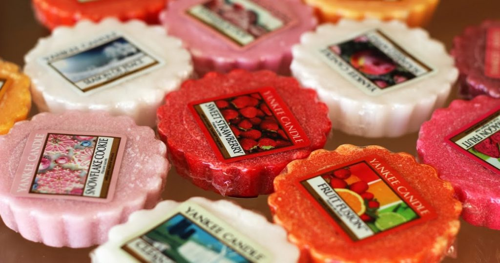 yankee candle tarts strawberry_spring_da_giardango