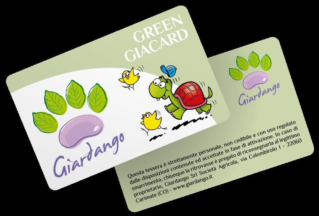 regolamento raccolta punti green giacard