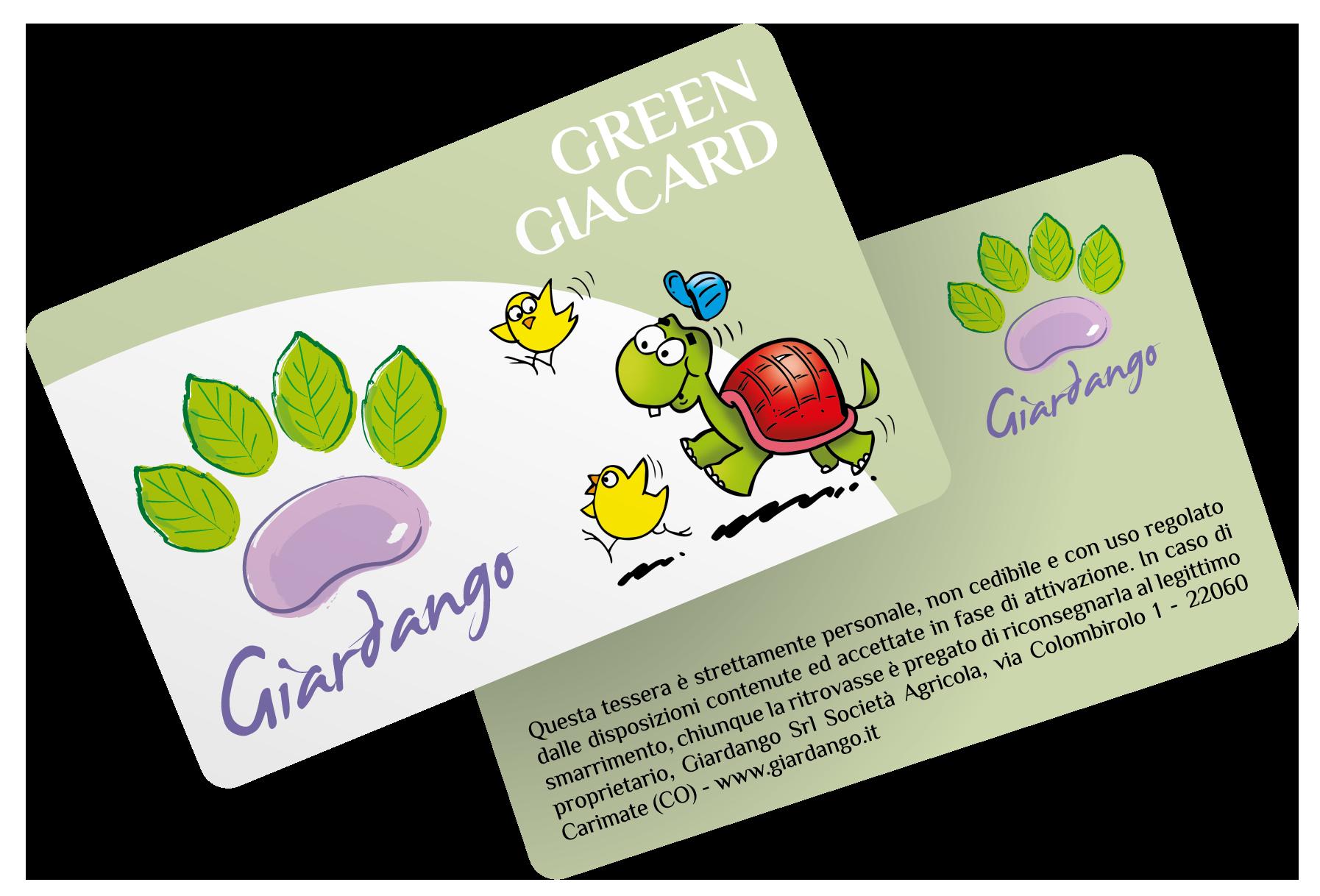 Green Giacard - Campagna Raccolta Punti