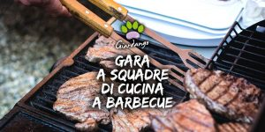 Gara a squadre di cucina al barbecue