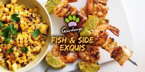 """Corso di cucina a barbecue """"Fish & Side Exquis"""""""